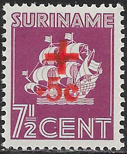 Suriname B40 Unused/Hinged - ‭Van ‭Walbeeck's Ship