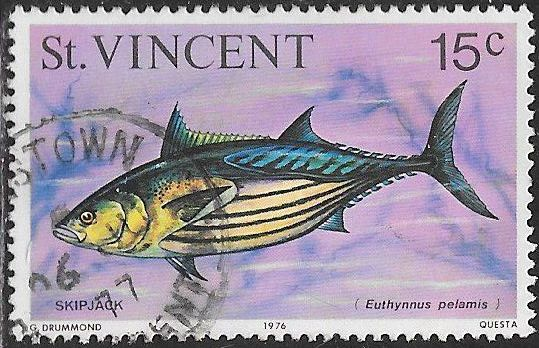 St. Vincent 472 Used - Fish & Whales - Skipjack