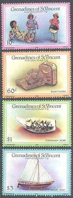 St. Vincent Grenadines 519-522 MNH - Handicrafts