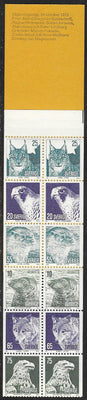 Sweden 1020a MNH - ‭Protected Animals - Complete Booklet