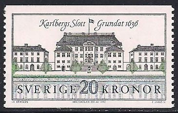 Sweden 1876 MNH - Palace