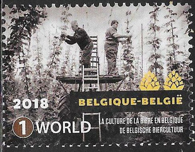 Belgium 2845c  Used - Beer Culture in Belgium - Harvesting of Hops