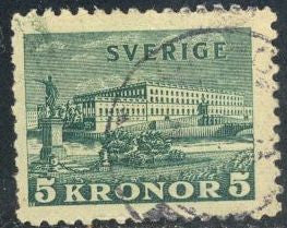Sweden 229 Used - Royal Palace - Short Perf.