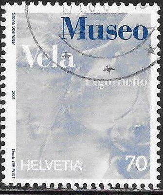 Switzerland 1098 Used - ‭‭Vela Museum, Ligornetto