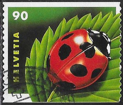 Switzerland 1125 Used -‭ Ladybug