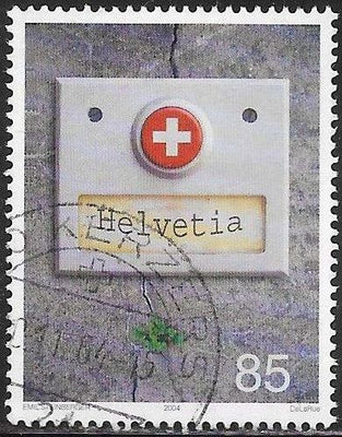Switzerland 1180 Used -‭ Doorbell Button