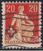 Switzerland 132 Used - Helvetia