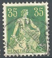 Switzerland 135 Used - Helvetia
