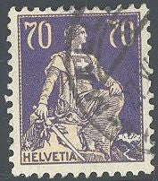 Switzerland 142 Used - Helvetia