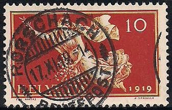 Switzerland 191 Used - Peace after WWI