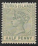 Turks Islands 51 Unused/Hinged - Victoria