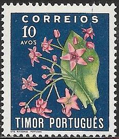 Timor 262 Unused/Hinged - Flowers