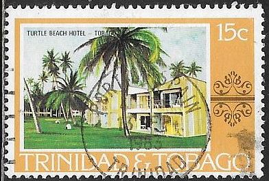 Trinidad & Tobago 280 Used - Hotels - Turtle Beach Hotel - Socked on the Nose