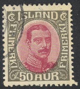 Iceland 125 Used - King Christian X