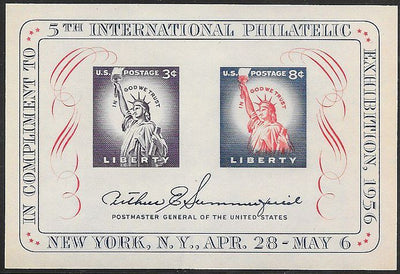 US 1075 MNH - FIPEX - Statue of Liberty