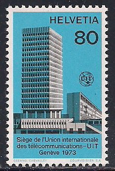 Switzerland 10O10 MNH - ITU Headquarters
