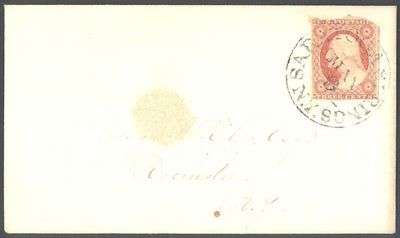 US 11A Cover - Saratoga Springs, NY to Rochester, NY - Ltr