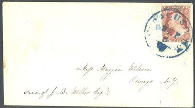 US 11A Cover - Syracuse, NY to Oswego, NY - Blue Cancel