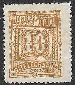 US 11T2 Unused/No Gum - Northern Mutual Telegraph