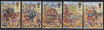 Great Britain 1289-1293 Used - Lord Mayors Show