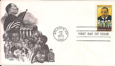 US 1771 FDC - RLG Cachet - Martin Luther King