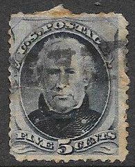US 179 Used - Zachary Taylor - Space Filler