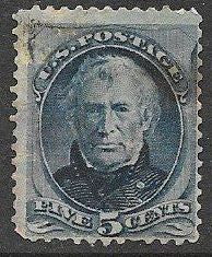 US 185 Used - Zachary Taylor - Perf Issues