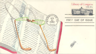 US 2004 FDC - C.W. Ray Add On Cachet - Library of Congress