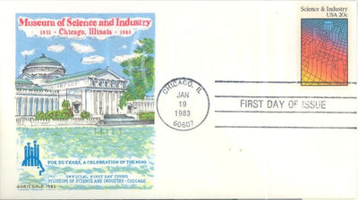 US 2031 FDC - Doris Gold - Science and Industry