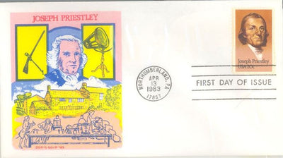 US 2038 FDC - Doris Gold - Joseph Priestly