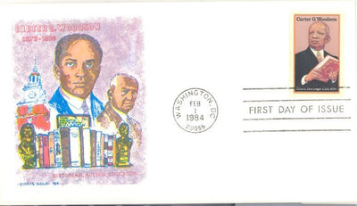 US 2073 FDC - Doris Gold - Carter Woodson