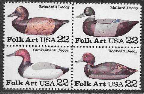 US 2141a MNH - Duck Decoys