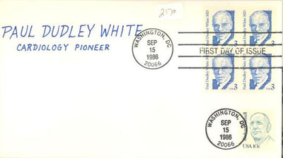US 2170 FDC - Charlton Cachet 9 of 10 - Paul Dudley White MD.
