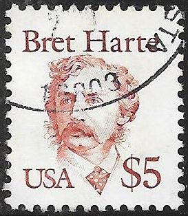 US 2196 Used - Bret Harte - Writer - $5 Great American
