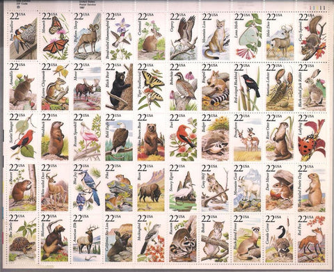 US 2335a MNH - American Wildlife - Plate 11111 UR