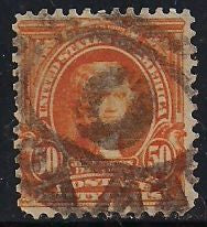 US 310 Used - Heavy Cancel - Thomas Jefferson