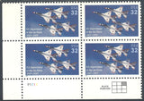 US 3167 MNH - Plate Block LL P1111 - Airforce
