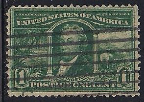 US 323 Used - Short Perf. - Louisiana Purchase - Robert Livingston