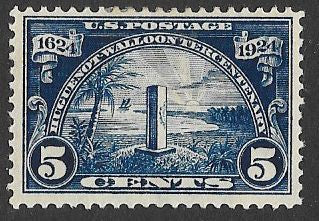 US 616 Unused/Hinged - Huguenot - Walloon Tercentenary