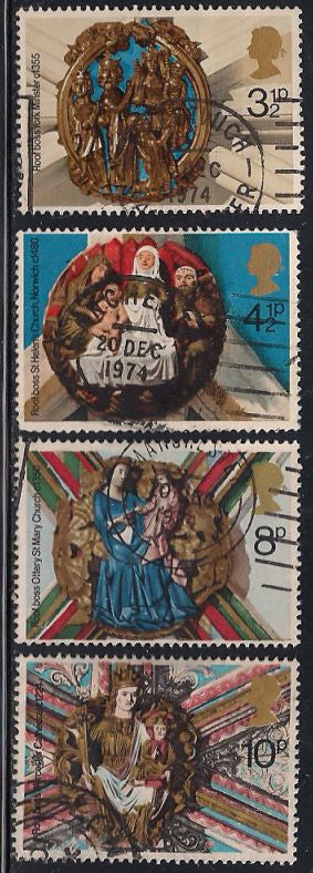 Great Britain 732-735 Used - Christmas