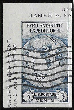 US 735a Used - Byrd Antarctic Expedition II