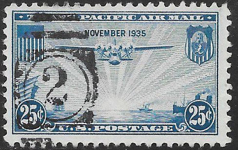 "US C20 Used - ‭‭The ""China Clipper"" over the Pacific"