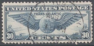 US C24 Used - Winged Globe