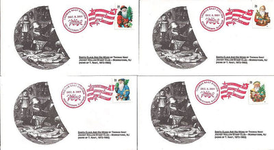 US Event Cover - Christmas - Thomas Nast Station 2001