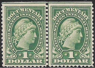 US R240 MNH - Documentary - Liberty - Straight Edge