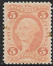 US R24c Used - Certificate - George Washington