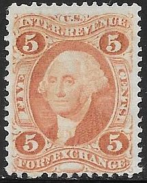 US R26c Unused/No Gum - Foreign Exchange - George Washington