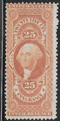 US R46c Unused/No Gum - Insurance - George Washington