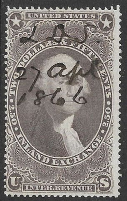 US R84c Used - Inland Exchange - George Washington