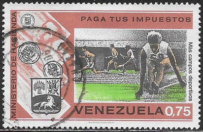 Venezuela 1080 Used - Playing Field (Sports)
